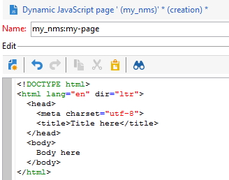 Create jssp Dynamic JavaScript Server Page in ACC | Blog by